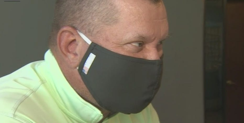 Face mask uses new tech to eliminate germs and viruses on contact