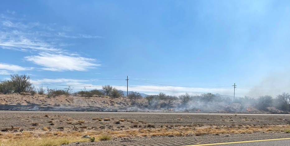 Tucson firefighters responding to brush fire near I-10
