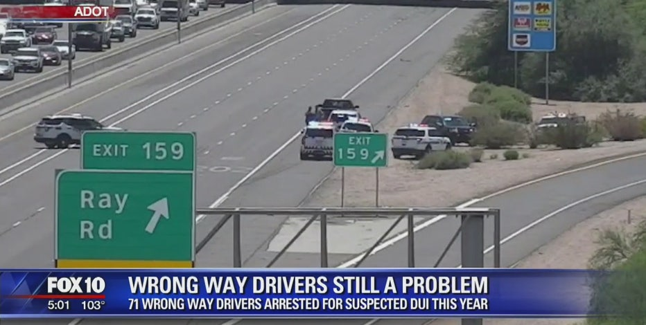 Wrong-way drivers becoming an increasing problem in the Valley