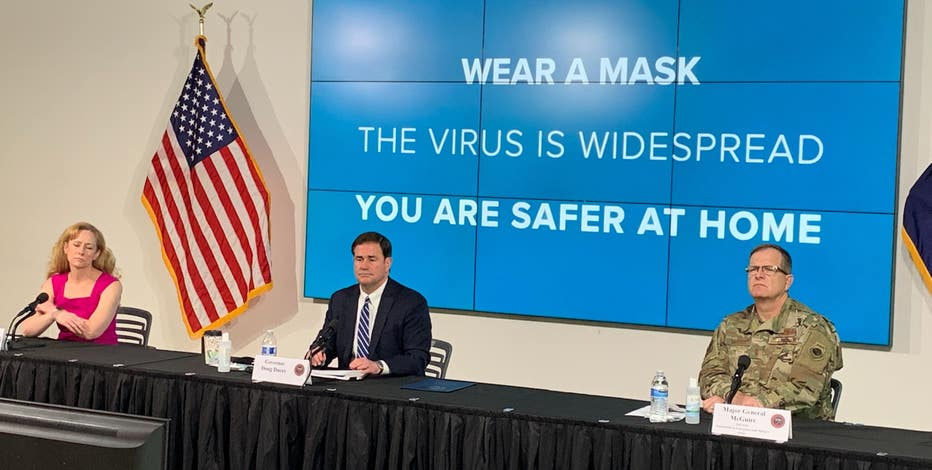 Gov. Ducey announces extension to statewide bar, gym closure as COVID-19 pandemic continues