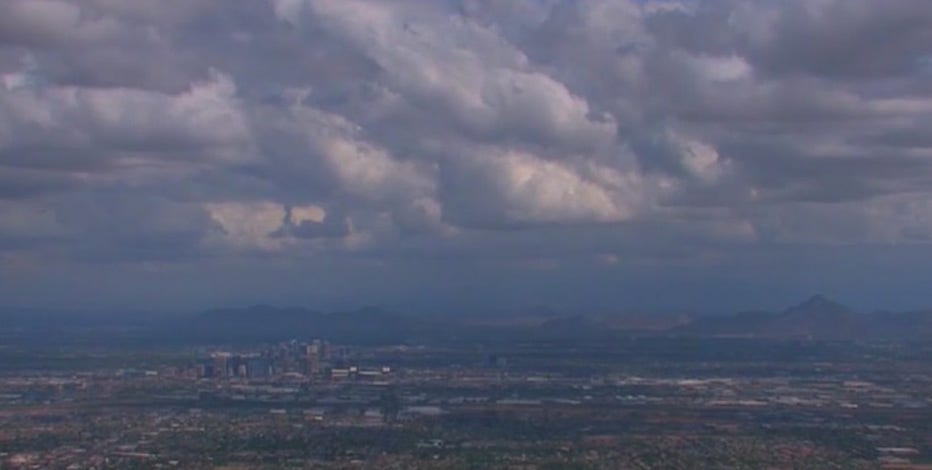 Rain drenches parts of the Valley as Arizona experiences a drier than normal summer