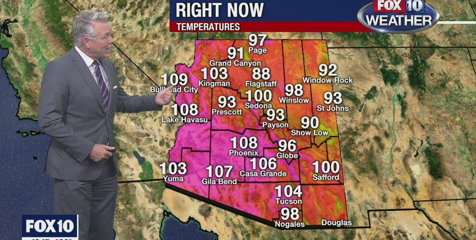 Another day of record-breaking heat in Phoenix as heatwave persists