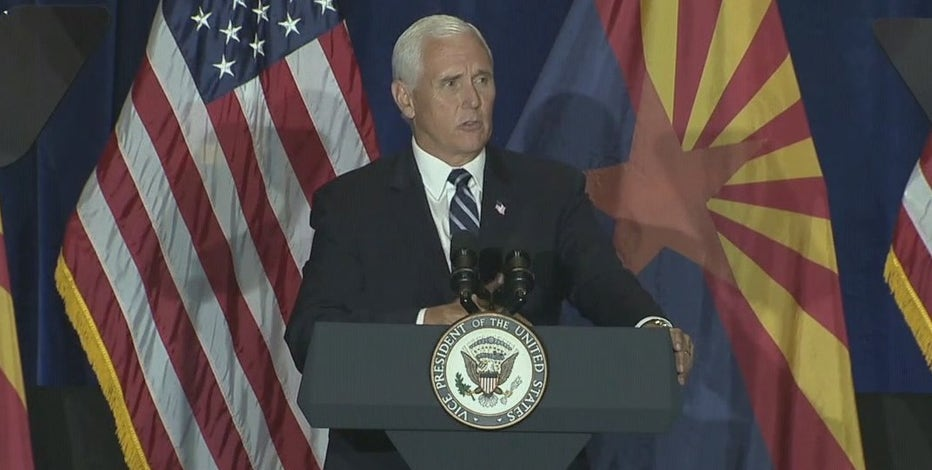 Vice President Pence to host campaign rally in Peoria on Oct. 8