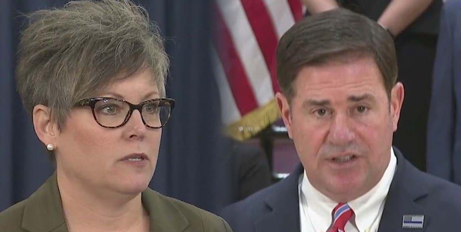 Arizona governor, secretary of state spar over election changes