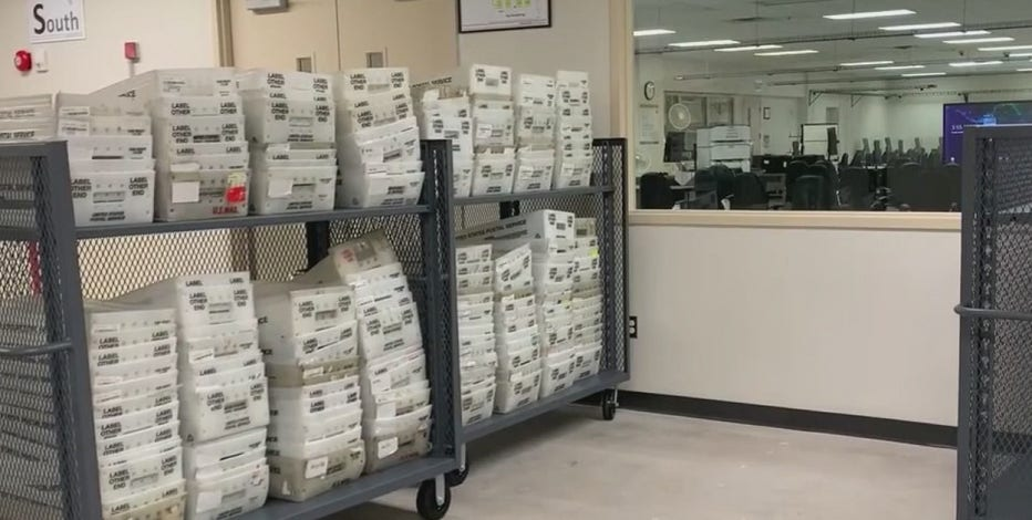 Maricopa County protects ballots from a fire with a new vault