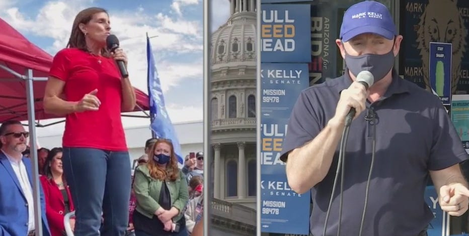 Mark Kelly, Martha McSally make final pitch to Arizona voters before Election Day