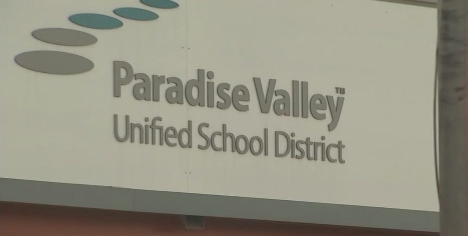 Parents stage protest as Paradise Valley Unified School District prepares to return to online learning