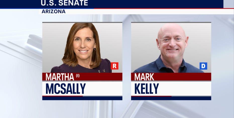 AP and FOX News project Mark Kelly as winner in Arizona's senate race, defeating Martha McSally