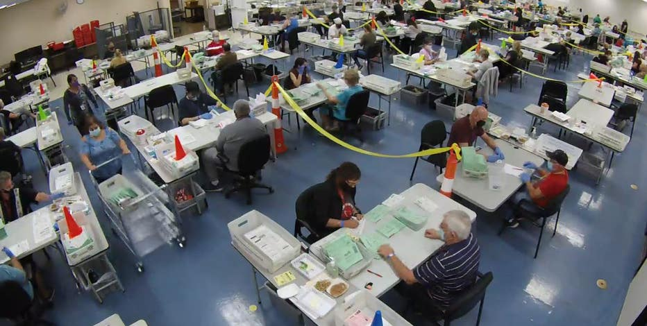2020 Election: How to watch ballot counting livestreams in Arizona, track county results