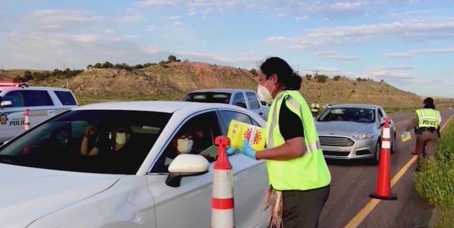 Navajo Nation under another three-week lockdown, ICU at capacity
