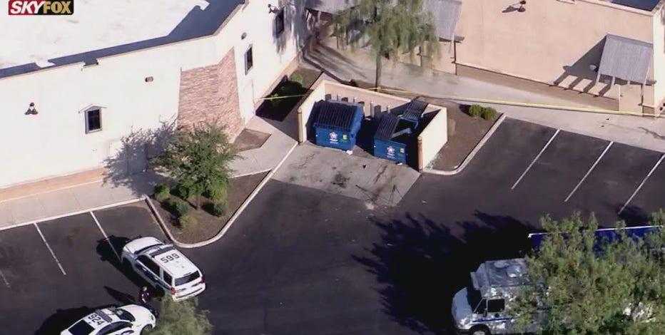 Newborn baby found dead behind business in southwest Phoenix
