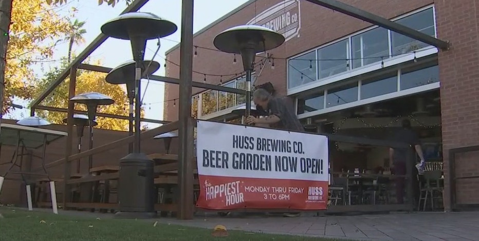 More restaurants offering outdoor dining options amid COVID-19 surge in Arizona