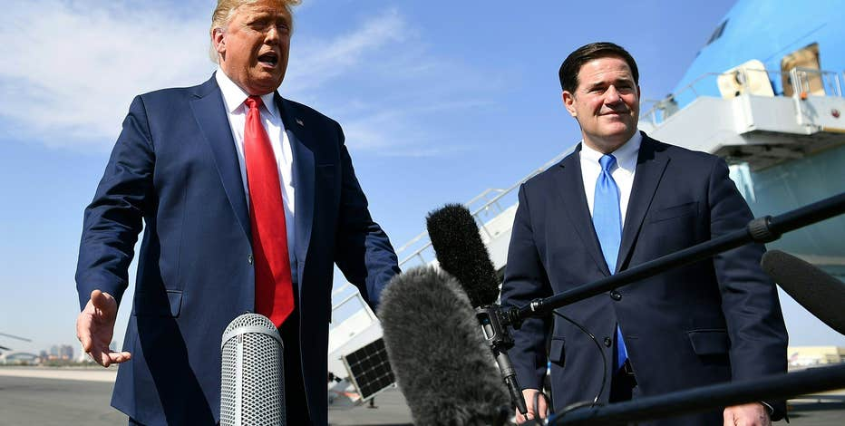 In Arizona, Trump's false claims have torn open a GOP rift