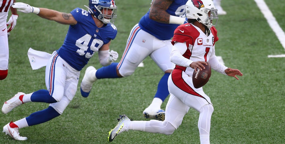 Murray throws TD, Cardinals end 3-game skid, beat red-hot Giants