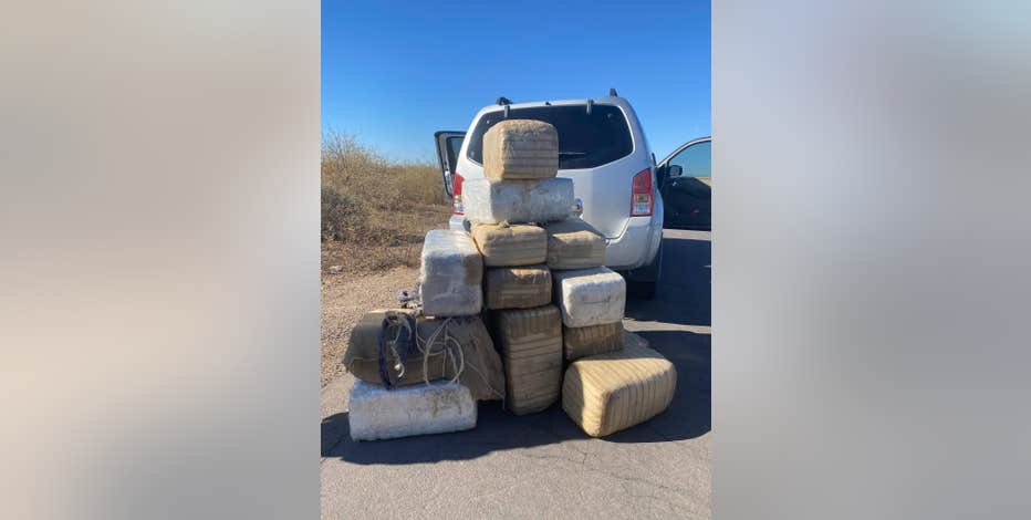 PCSO: It is still illegal for people to drive around with hundreds of pounds of pot in their car