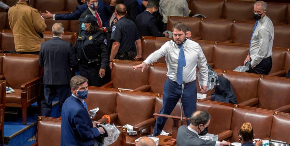 Arizona Congressman Ruben Gallego recounts chaos at U.S. Capitol during deadly riot