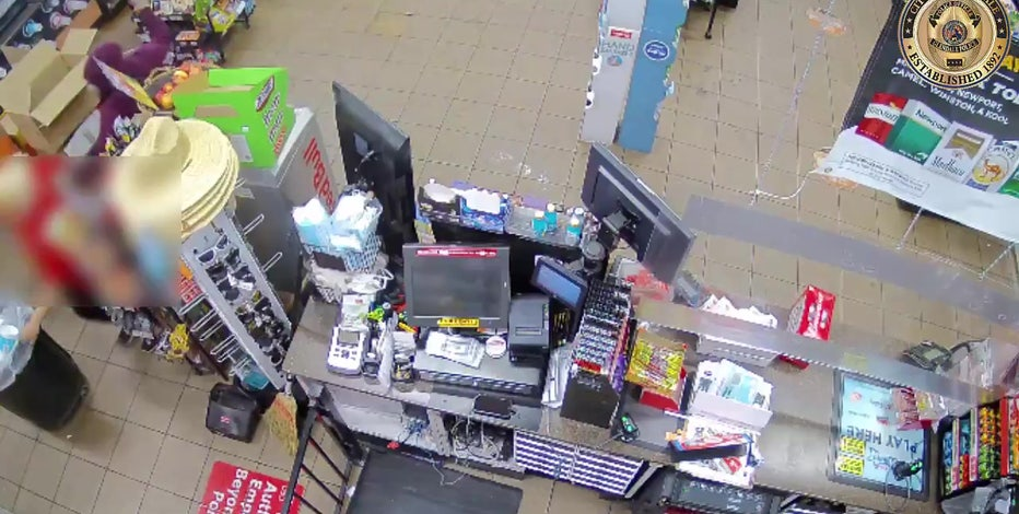 Glendale Police looking for suspect in brutal store robbery