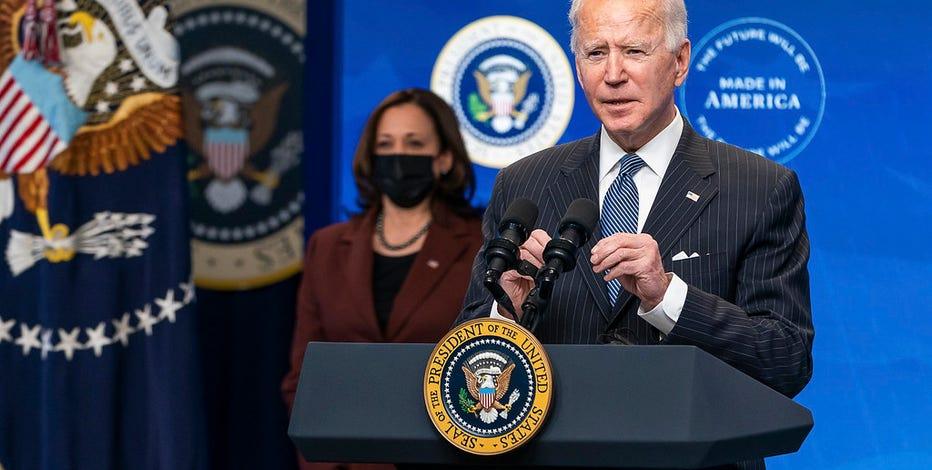 President Biden, Vice President Harris to take virtual tour of vaccination site at State Farm Stadium