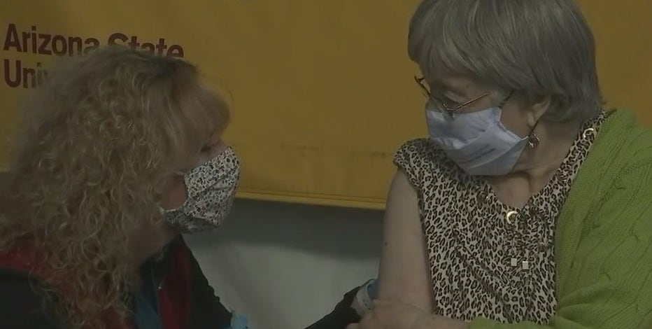 Several Arizona Holocaust survivors receive COVID-19 vaccine doses