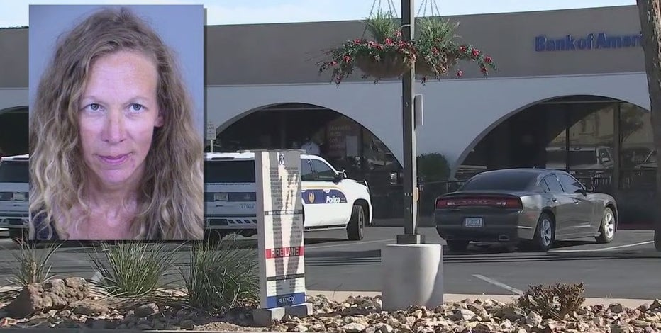 Woman accused of trying to rob Phoenix bank said it was meant to be a 'joke'