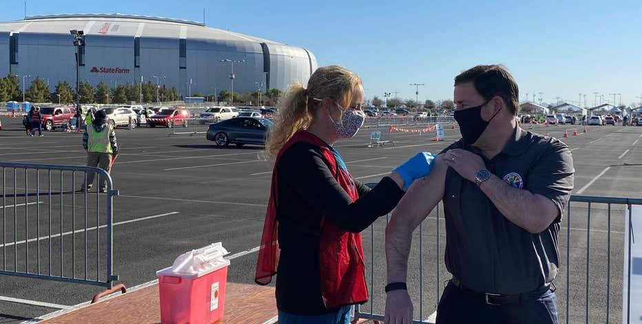 Governor Ducey gets vaccine as Arizona coronavirus death toll tops 16,000