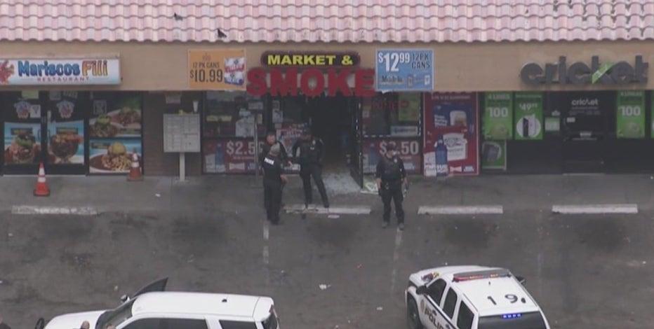 Investigation underway after man was shot at Glendale business