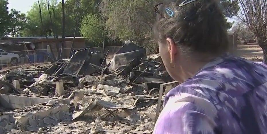 Fire dispatcher loses home in Margo Fire, now living at fire station