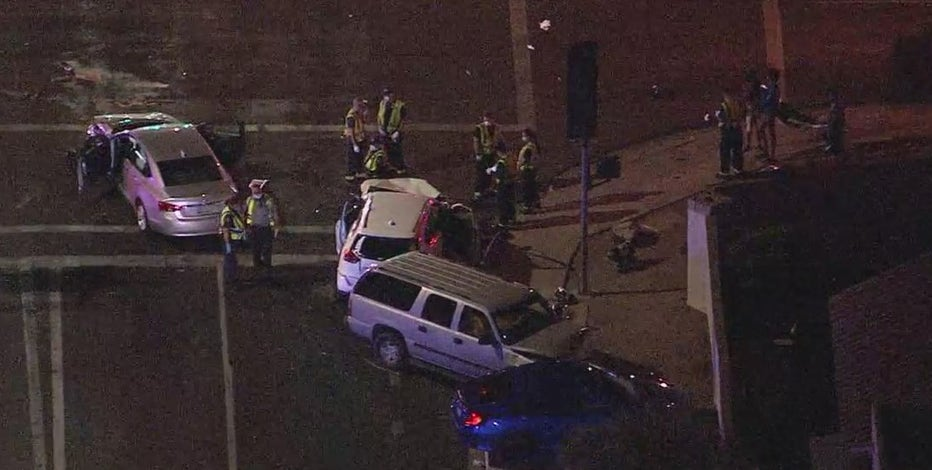 DPS: Driver who fled from trooper involved in multi-car crash