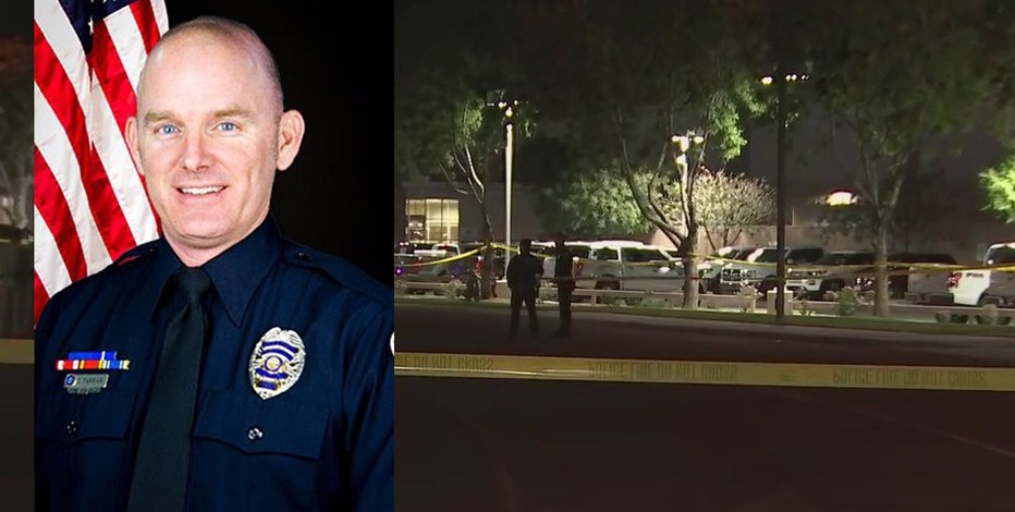 Chandler officer hit, killed by suspect in stolen truck in Gilbert; suspect identified