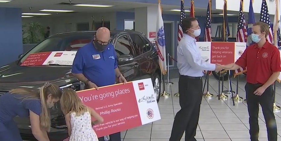 'I was very surprised': Valley veteran gifted free car