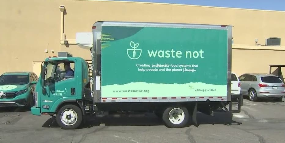 With store and restaurant donations, Waste Not gets surplus perishable food to those in need in Arizona