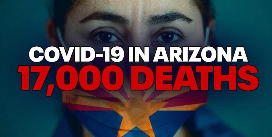 Demand for vaccines slows as Arizona surpasses 17,000 deaths