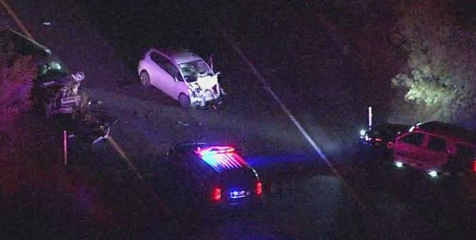6 injured in wrong-way crash on US 60 near Gold Canyon; highway reopens