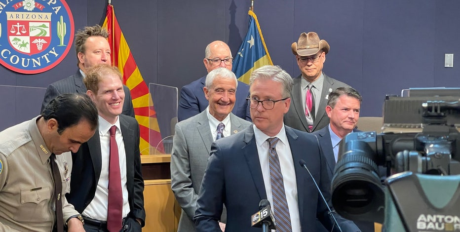 Arizona Republicans fight back against election fraud claims