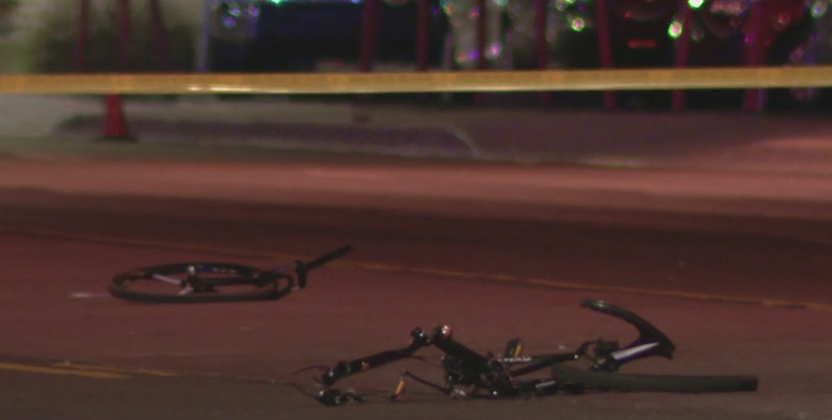 PD: Driver sought after bicyclist hit, killed in Mesa