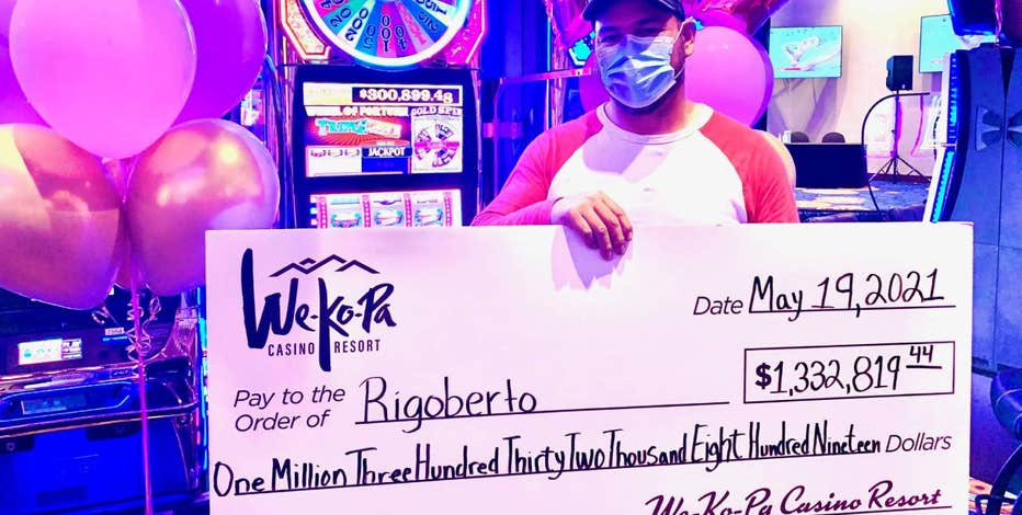 Mesa man wins over $1M on slot machine at We-Ko-Pa Casino