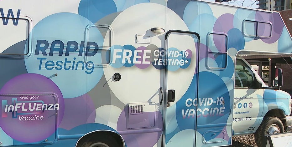 Pop-up COVID-19 vaccination site set up at First Friday in Downtown Phoenix