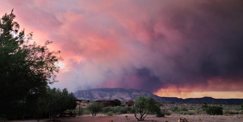 Evacuations ordered as Rafael Fire burns in Yavapai County