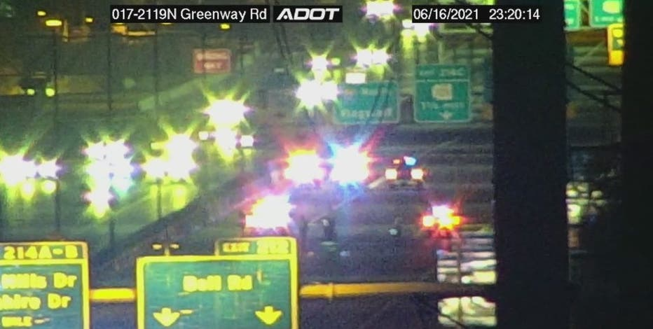 Shooting leads to crash on I-17 in Phoenix