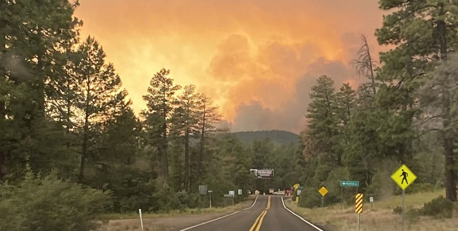 Backbone Fire forces evacuation of campers near Strawberry