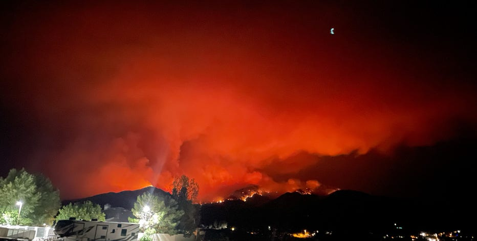 What to know about the Telegraph Fire: Evacuations, highway closures underway
