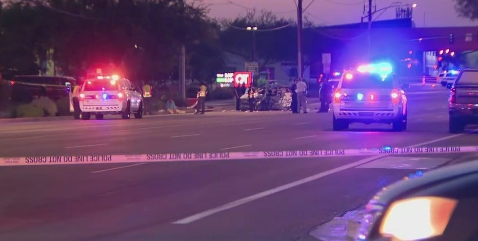 Woman dead, three others hospitalized in North Phoenix crash