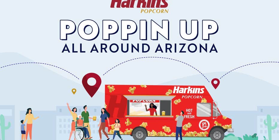 A taste of the movies: Harkins Theatres announces new popcorn food truck
