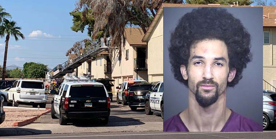 Mesa woman shot in the head, boyfriend arrested after hours-long barricade situation