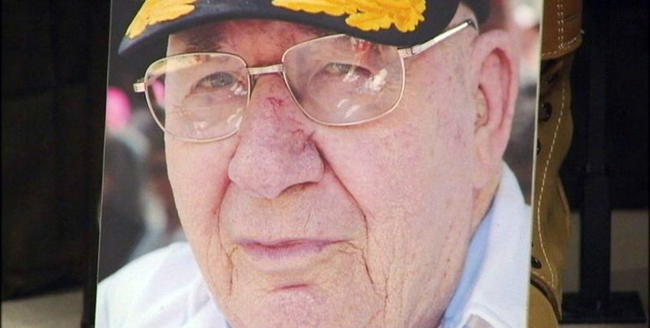 The first American to storm the beaches of Normandy on D-Day