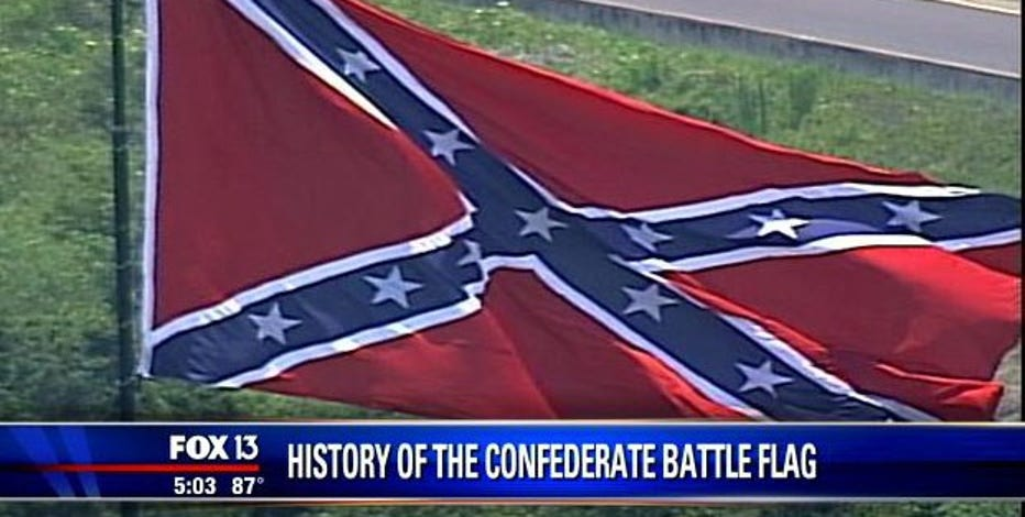 A look at the history of the Confederate flag
