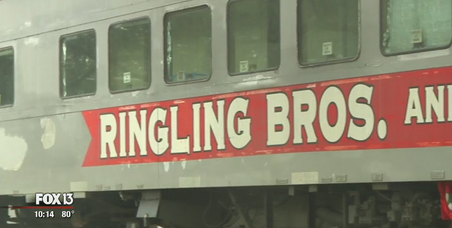 Ringling Bros. train car gets permanent home in Seffner