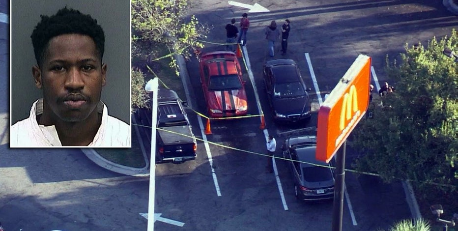 Gun in McDonald's bag leads to arrest of suspected serial killer