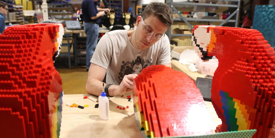 LEGO Master Model Builder is a real job. Here's what it takes