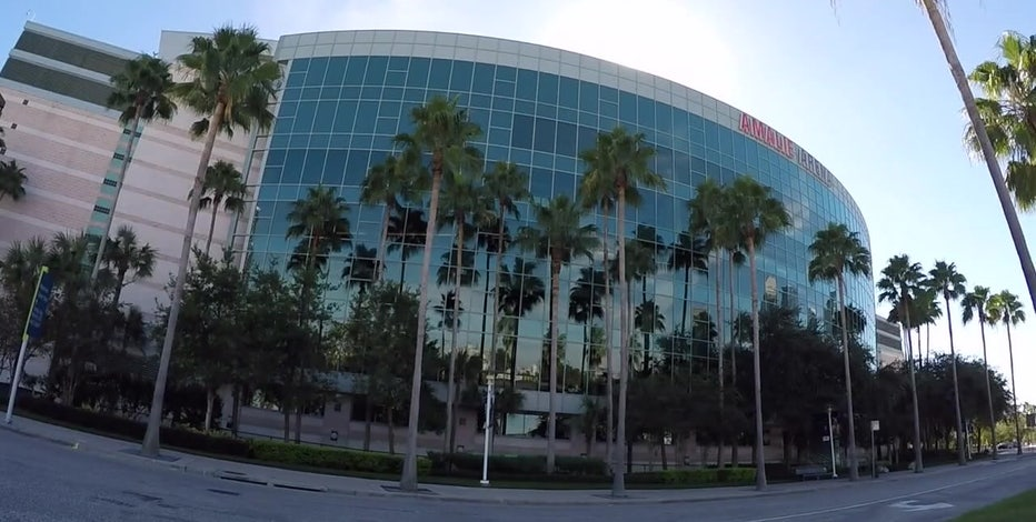 Toronto Raptors move in at Amalie Arena Friday with fans allowed